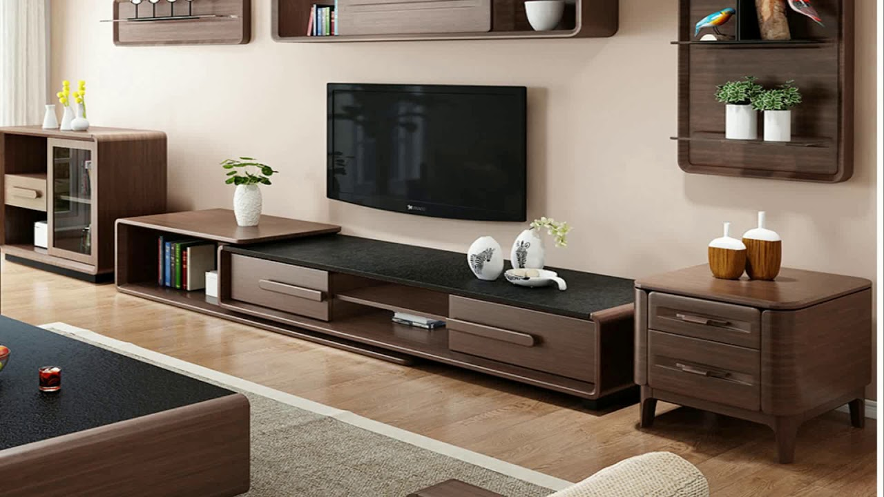 Corner Tv Showcase For Living Room - YouTube