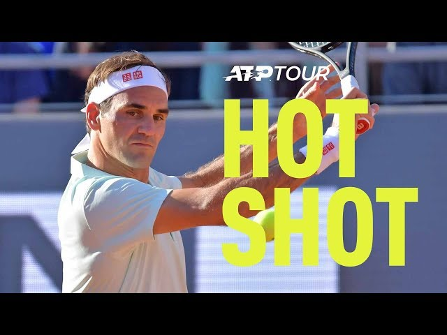 Hot Shot: Federer's Nasty Dropper Forces Coric To Run Into The Net | Rome 2019