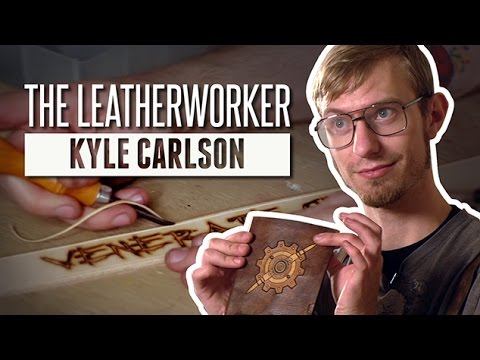 Kyle the Leatherworker | Meet the Makers