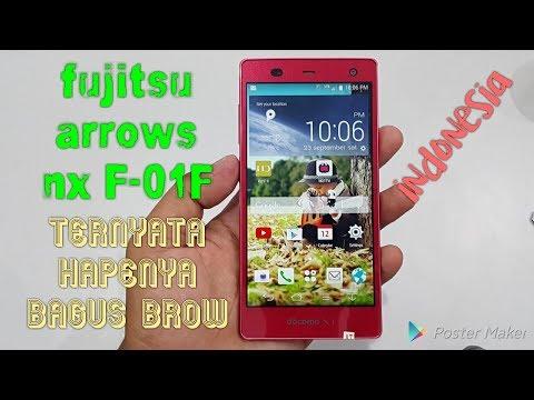 Fujitsu arrows nx f-01f indonesia hape yang lagi viral saat ini (unboxing)