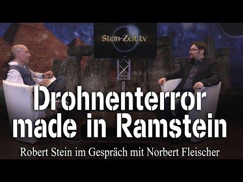 Drohnen: Terror made in Ramstein - Norbert Fleischer bei SteinZeit