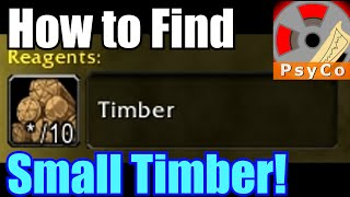 Wod How To Find Small Timber - Turning Timber Into Profit Quest Guide [1080hd]