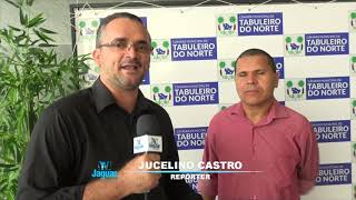 Reginaldo Ferreira expressa emoção em receber o titulo de cidadão Tabuleirense