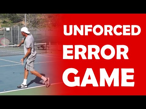 Unforced Error Game | RALLY GAMES