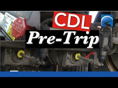 How to Test Tractor Protection System for CDL Air Brake Inspection