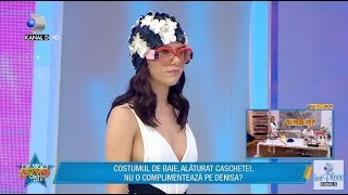 "Bravo, ai stil! All Stars (27.04.) - Tinuta Denisei, criticata astazi de jurati: ""Esti cea mai...!"" Video"
