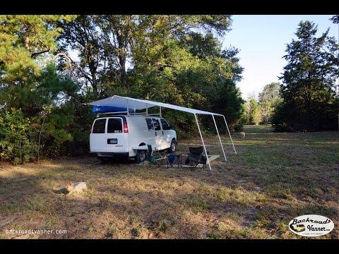 Van Life - Custom Van Awning System - How To DIY Van Canopy