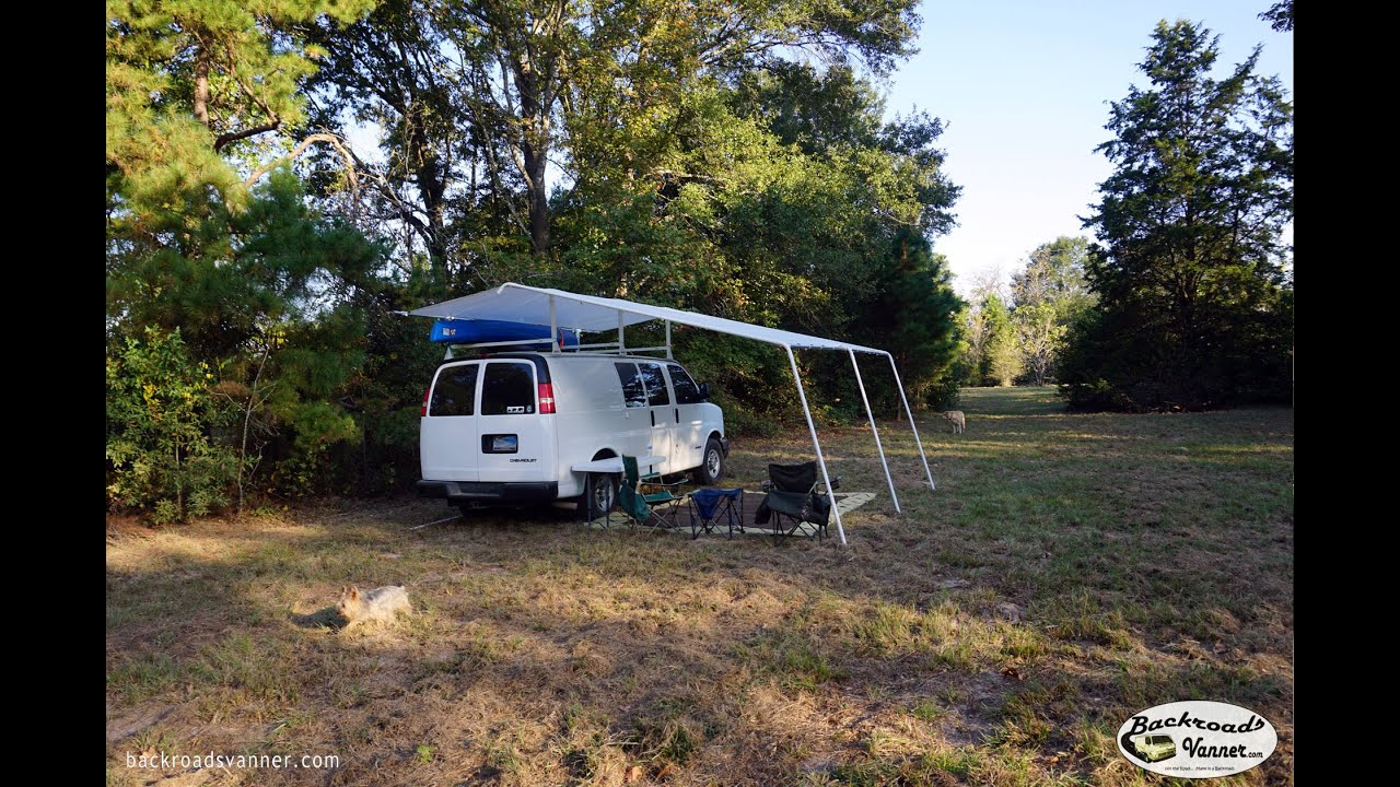 Van Life Custom Van Awning System How To Diy Van