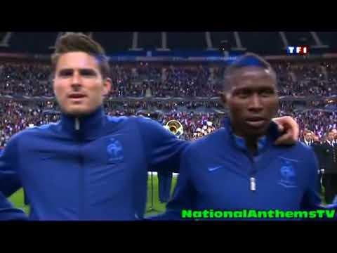 Olivier Giroud La Marseillaise National Anthem of France