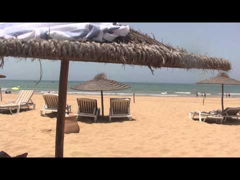 Agadir - Atlas Almohades - plaża