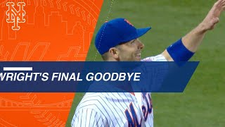 David Wright's emotional goodbye to baseball