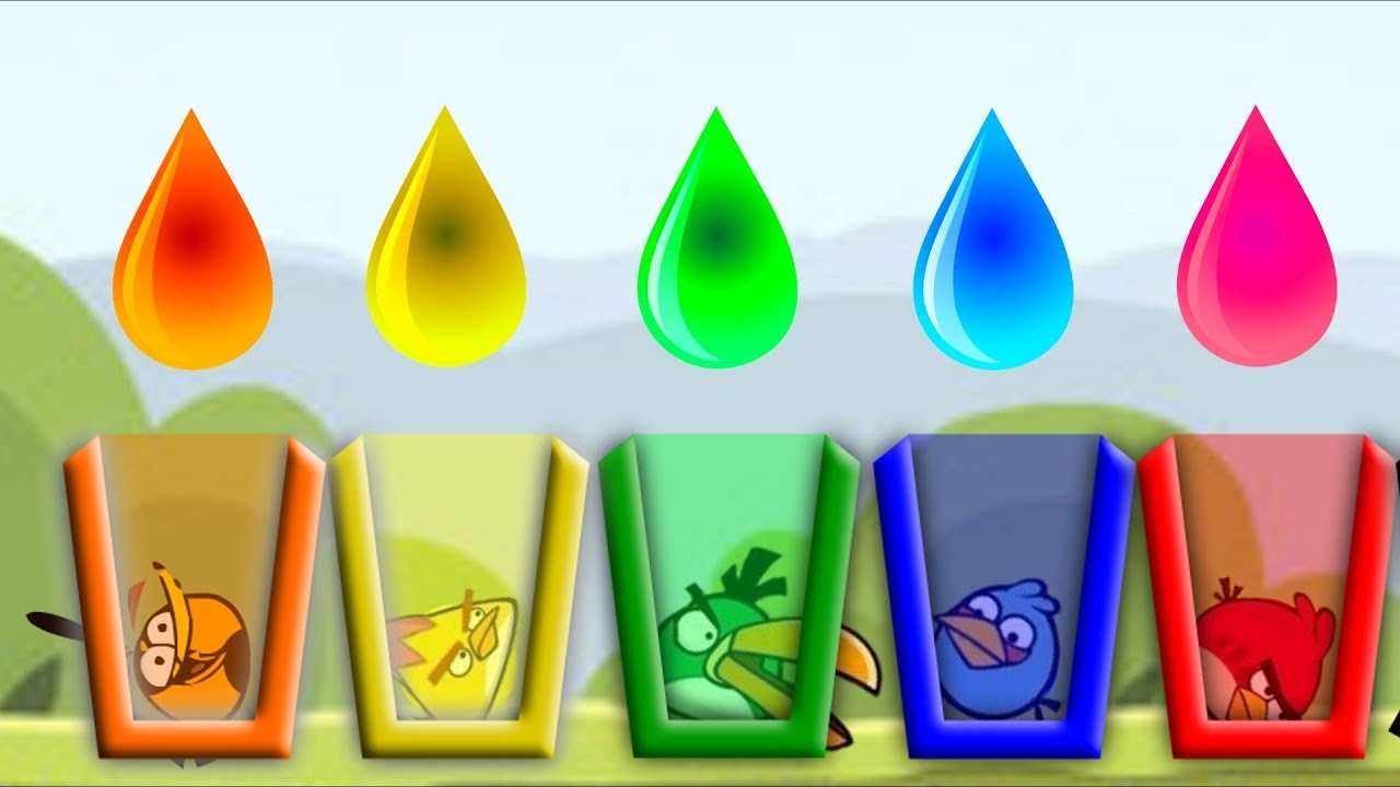 Angrybirds Drink Water Game - Play online at Y8.com