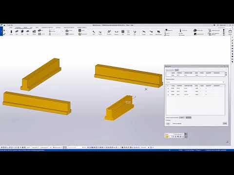 Easier Editing of Identical Assemblies and Cast Units with Batch Editing - Tekla Structures 2021