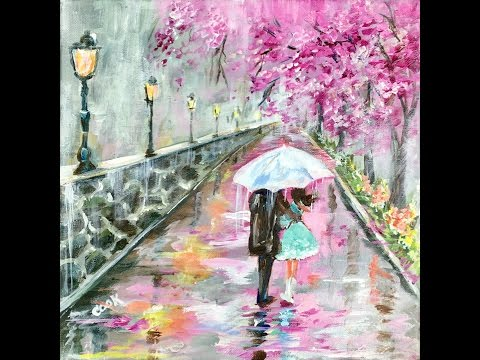 The Proposal - Learn to Paint Tuesday with Ginger Cook