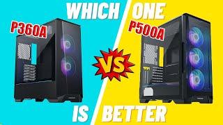 Phanteks Eclipse P360A vs P500A - Unboxing, Build and Review