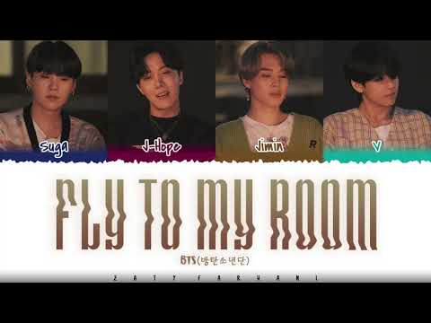 BTS – 'FLY TO MY ROOM' (내 방을 여행하는 법) Lyrics [Color Coded_Han_Rom_Eng]