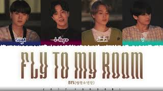 Download BTS – 'FLY TO MY ROOM' (내 방을 여행하는 법) Lyrics [Color Coded_Han_Rom_Eng]
