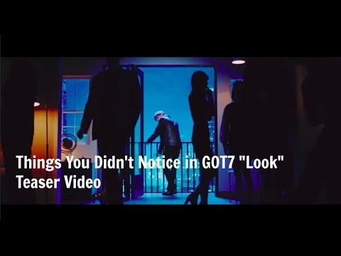 Things You Didn't Notice in GOT7