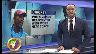 TVJ Sports News: Phil Simmons Reappointed W.I. Head Coach - October 14 2019