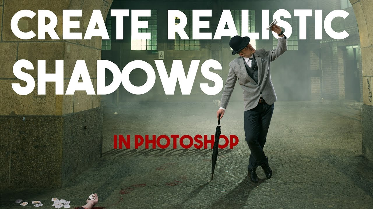 How to Create Realistic Shadows in Photoshop - 3 Types of Shadows in Photoshop