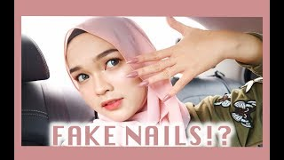 Download Video WEARING FAKE NAILS FOR A DAY (HARD AF)   Zakirah Zainal MP3 3GP MP4