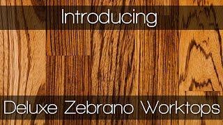 Deluxe Zebrano Worktops - Kitchen Worktops By Worktop Express