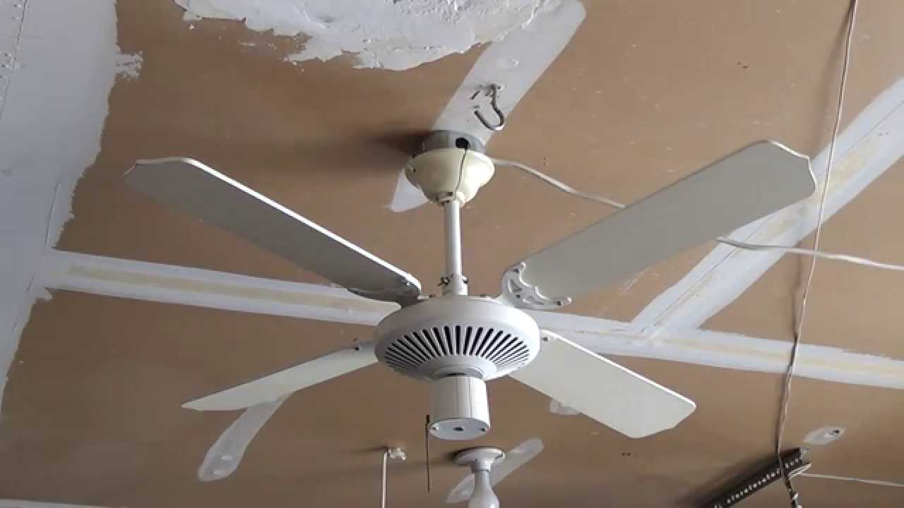 Evergo Top Mount Ceiling Fan Remake Youtube