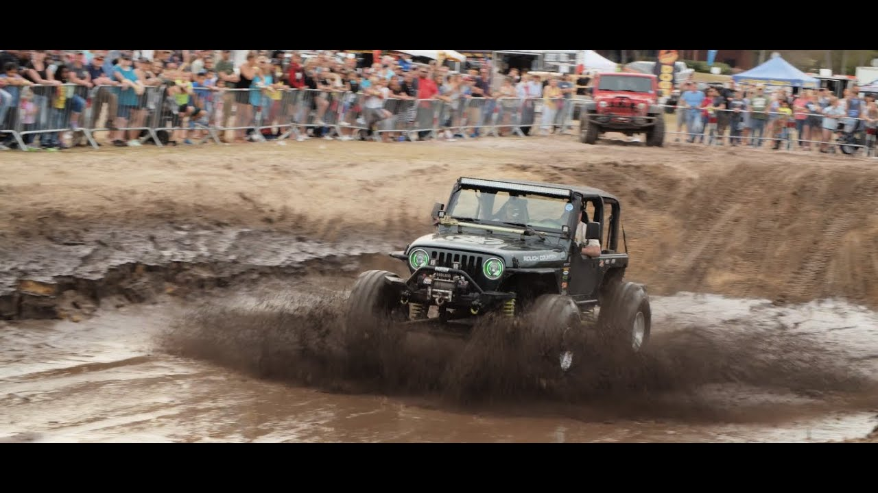 jeeps take on the obstacles at the myrtle beach jeep jam