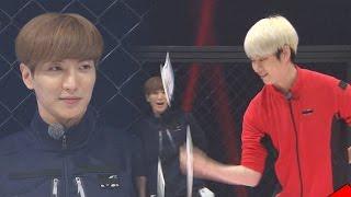 《FUNNY》 Running Man 런닝맨|이특 VS 김희철, 최후의 카드뽑기 '필살대결' EP407 20151129