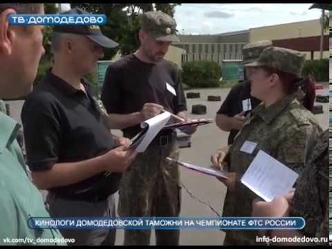 Кинологи домодедовской таможни на чемпионате ФТС России