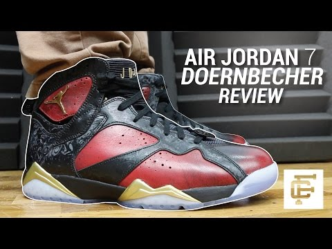 AIR JORDAN 7 DOERNBECHER DB REVIEW