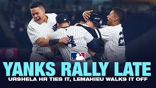 Yanks rally late to defeat Mariners