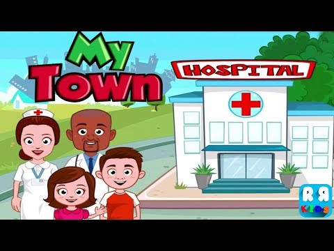 My Town : Hospital (by My Town Games) - How to be a Doctor for Kids iPad Gameplay