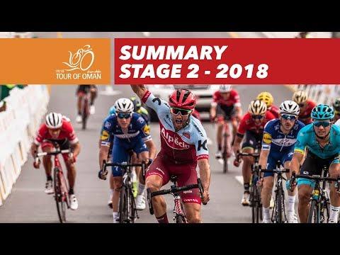 Summary - Stage 2 - Tour of Oman 2018