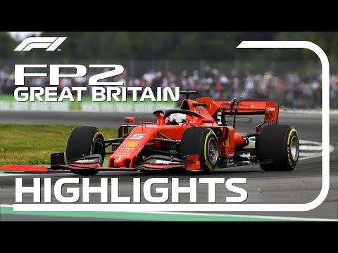 2019 British Grand Prix | FP2 Highlights