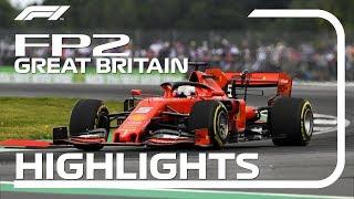 2019 British Grand Prix: FP2 Highlights