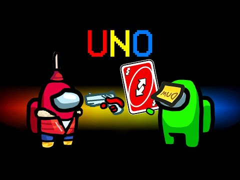 UNO REVERSE IMPOSTOR Mod in Among Us! (Uno Mod)
