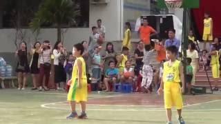 HanoiStar - Ấn tượng vòng loại giải Bóng rổ Cup Milo 2016