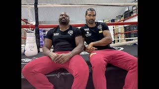 WAR!! CHISORA DROPS 'DEL BOY' AFTER SIGNING WITH OLD FOE DAVID HAYE