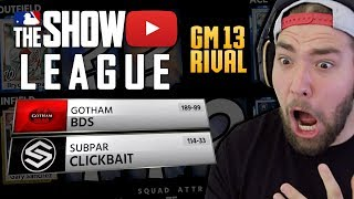 LETS PLAY SPOILER! GAME 13 VS RIVAL MLB THE SHOW 18 LEAGUE!
