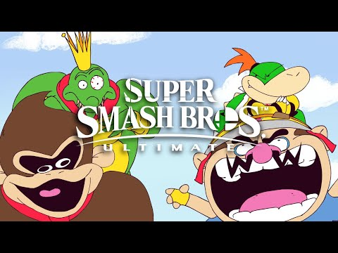 Newgrounds Smash bros Collab - Sr pelo