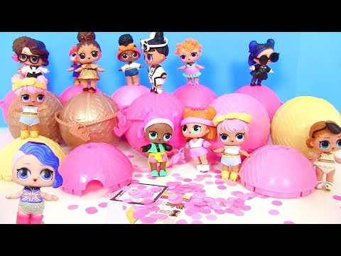 Куклы Лол Сюрприз Мультик! Гламурные Шопкинс и Коллекция Lol Surprise Confetti Pop Часть 3