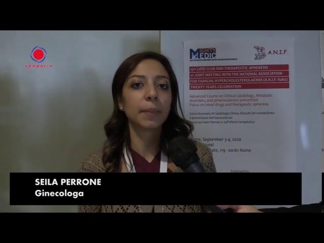 INTERVISTA A SEILA PERRONE. 15th LIPID CLUB - IL CONGRESSO.  20° ANNIVERSARIO ANIF