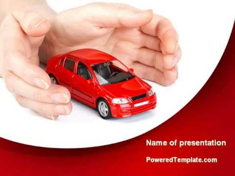 Private Car Insurance PowerPoint Template by PoweredTemplate.com