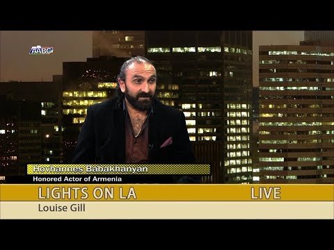 "Hovhannes Babakhanyan on ""LIGHTS ON LA"" with Louise Gill"