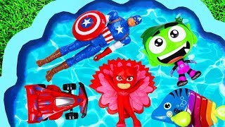 Learn Characters with Paw Patrol, Pj Masks, Super Heroes and Disney Princess - Pretend Play