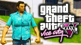 Top 5 Best GTA Vice City Easter Eggs in GTA 5!