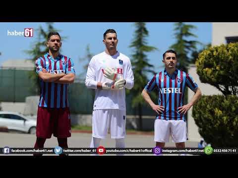 Trabzonspor'un yeni formalarını