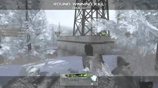 Crazy Mw2 Trickshot Reaction Thumbnail