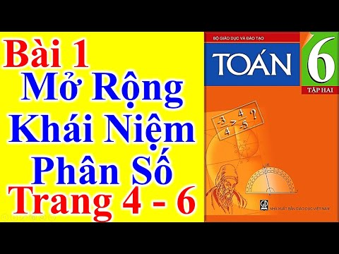 Toán Lớp 6 Bài 1 - Mở Rộng Khái Niệm Phân Số - Trang 4 - 6